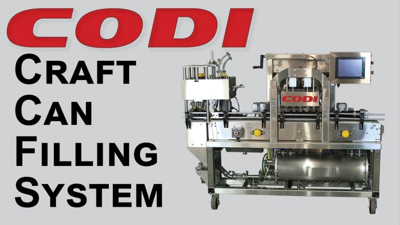 Micro Canning Line – Codi Craft Can Filling